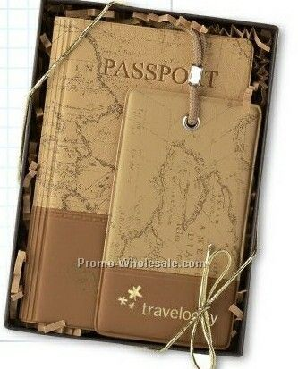 Promotional Travel Gift Set for notepads