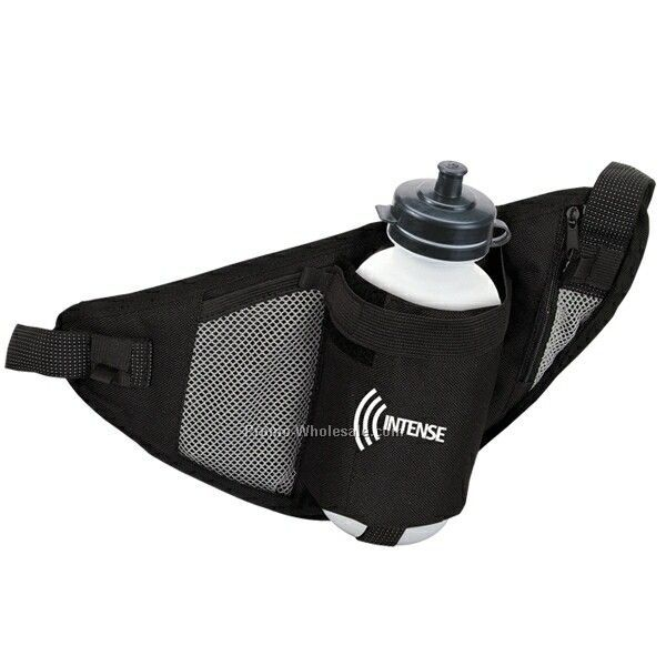 "12""x6-1/4"" Waist Water Bottle Holder (Imprinted)"