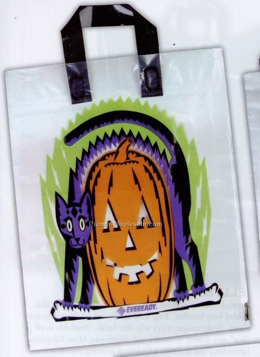 "13-1/2""x15"" Trick Or Treat Bag W/ Coupon"