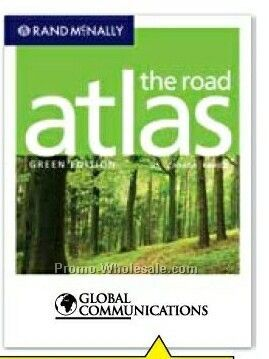 2009 Road Atlas - Midsize Green Edition (Us/ Canada/ Mexico)