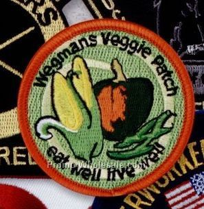 "3-1/2"" Embroidered Patch"