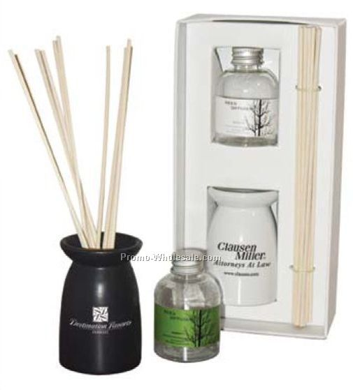 "4-1/4""x8-1/2""x2-1/4"" Aroma Reed Diffuser"