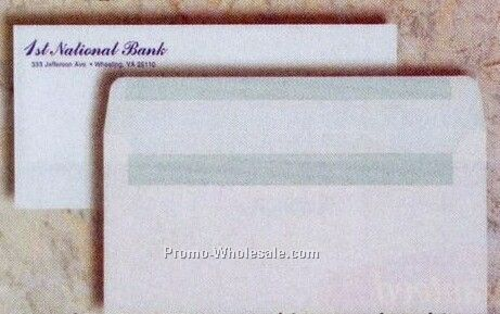 "4-1/8""x9-1/2"" Simple Seal Window Envelope"