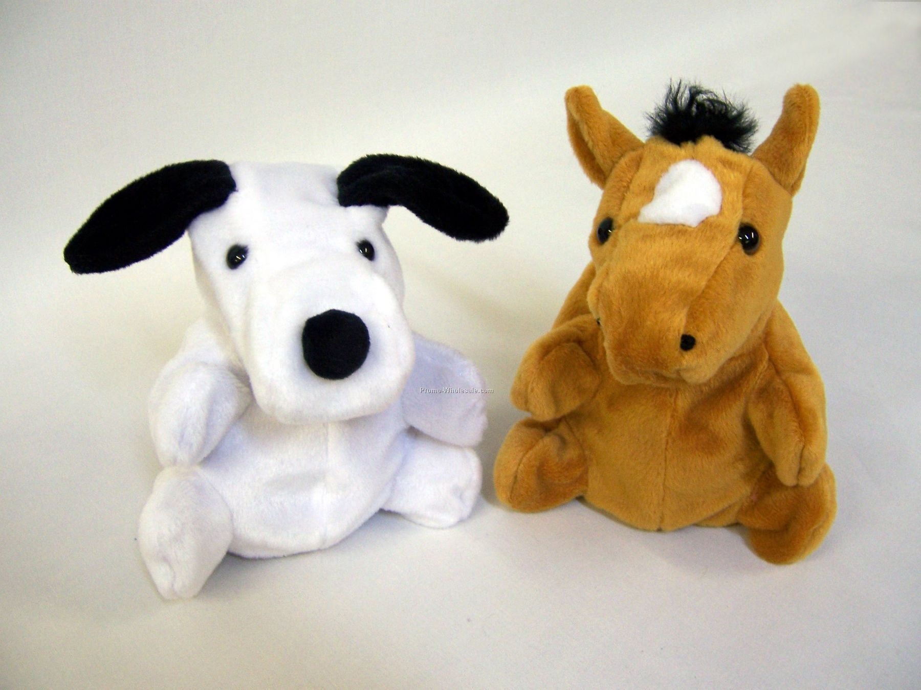 "7"" Reversible Dog Into Pony Puppet"
