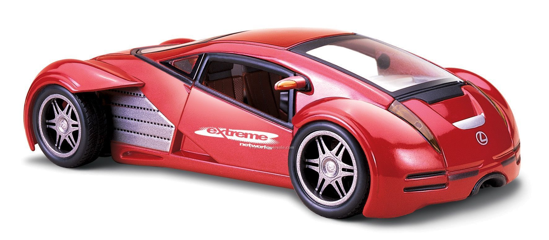 "7""x2-1/2""x3"" Lexus Futuristic Concept Die Cast Replica Sports Car"