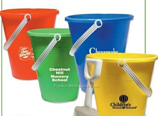 "9"" Pail & White Shovel Assortment"
