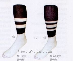 Adult Large Ncaa Style Football Official Socks