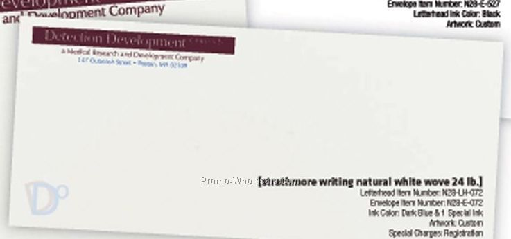 Bright White Strathmore Writing Wove Envelopes W/ 1 Special Ink