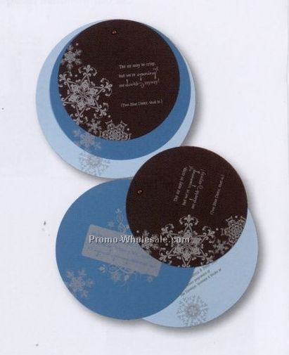 Custom Die Cut Circle Invitation Set