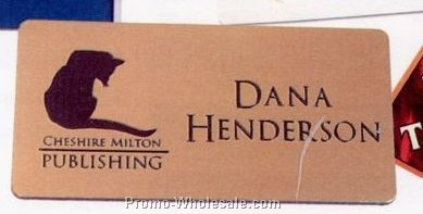 "Full Color Name Badges 1-1/2""x3""x3/5"""