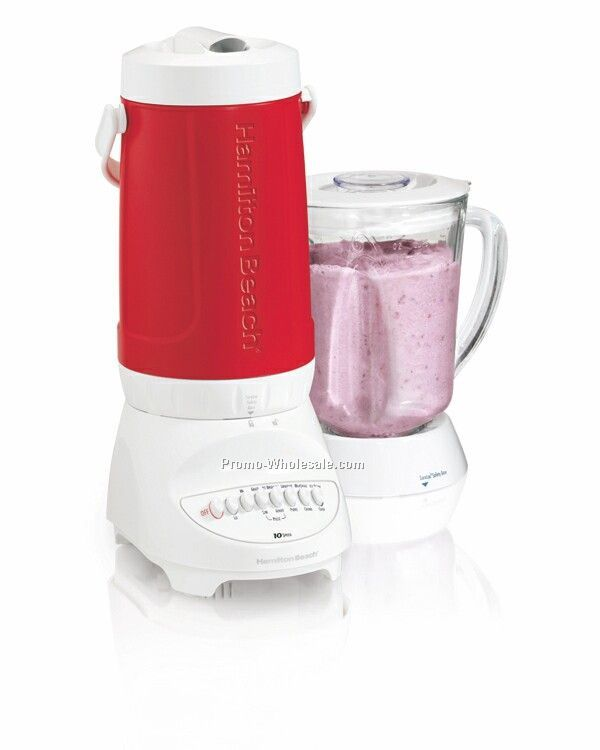 Hamilton Beach Thermal Cooler Blender, Red
