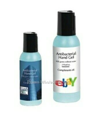Iceland 2 Oz. Anti-bacterial Hand Gel (1 Day Shipping)