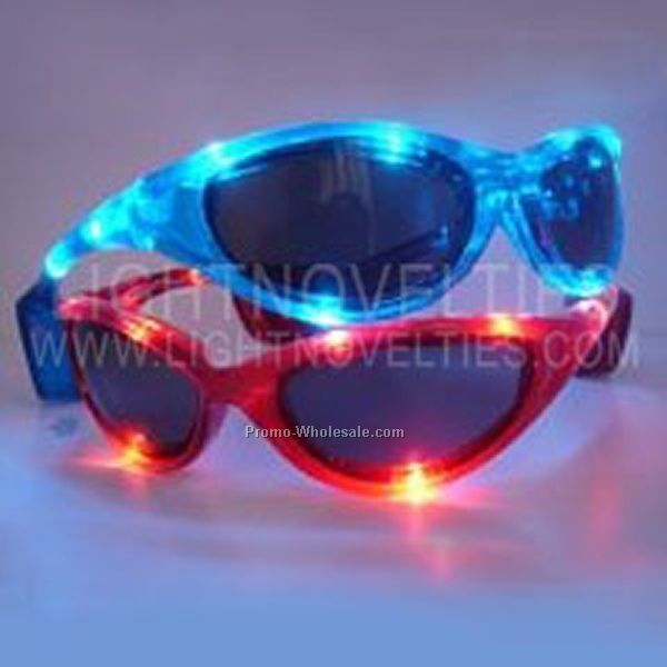 Light Up Glasses (2008) - Red - Adult Size