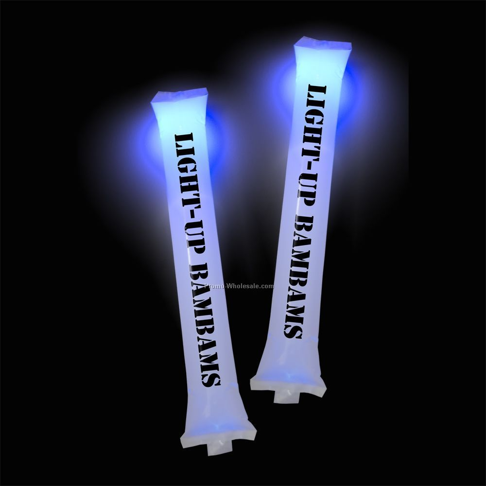 Light-up Bambams Inflatable Noise Makers - Pairs - Economy
