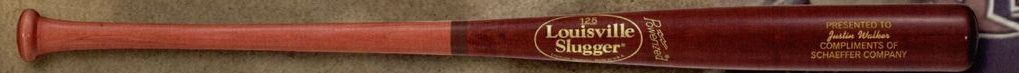Louisville Slugger Full-size Personalized Wood Bat (Wine Red & Hornsby)