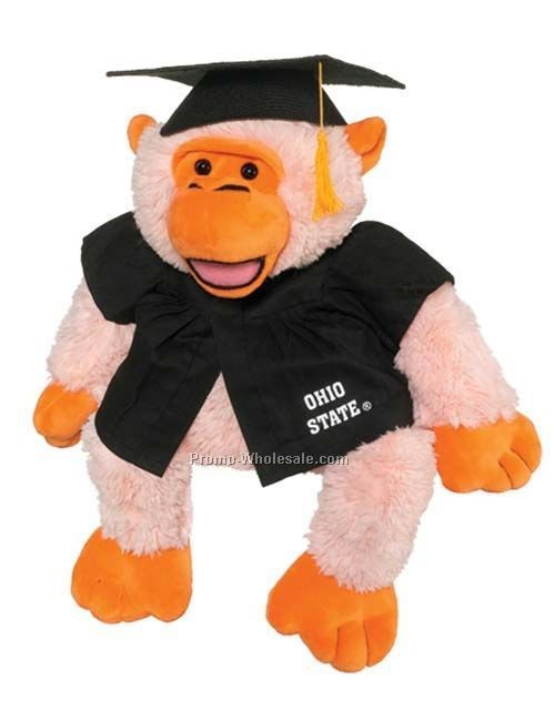 Medium Graduation Gown Accessory (Included W/ Stuffed Animal)