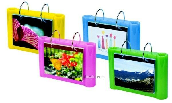 Photo Frame With Pen & Pencil Holder