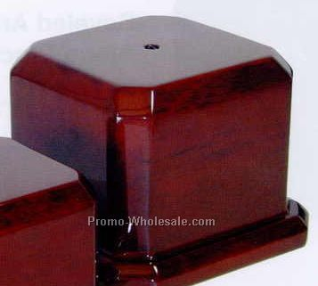 "Piano Finish Cup Base (5-1/2""x5-1/2""x4"")"