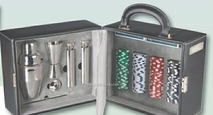 Poker/Martini Set
