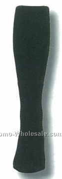 Solid Black Tube Socks For Basketball Referees (10-13 Large)