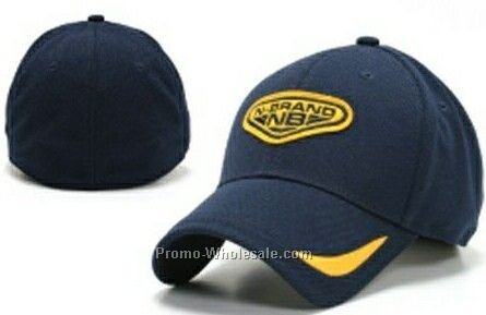 Stock Blue Cap With N Brand Design