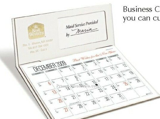 The Personalizer Desk Calendar/ Business Card Holder (Early Order)