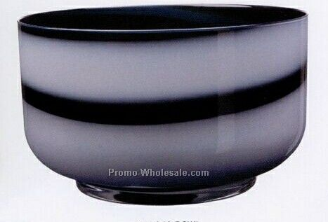 "Twist Black/White Bowl (6-1/4"")"