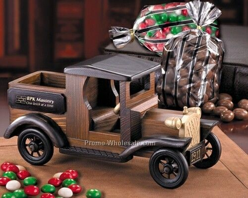 1911 Pickup Truck W/Chocolate Almonds & Gourmet Mints