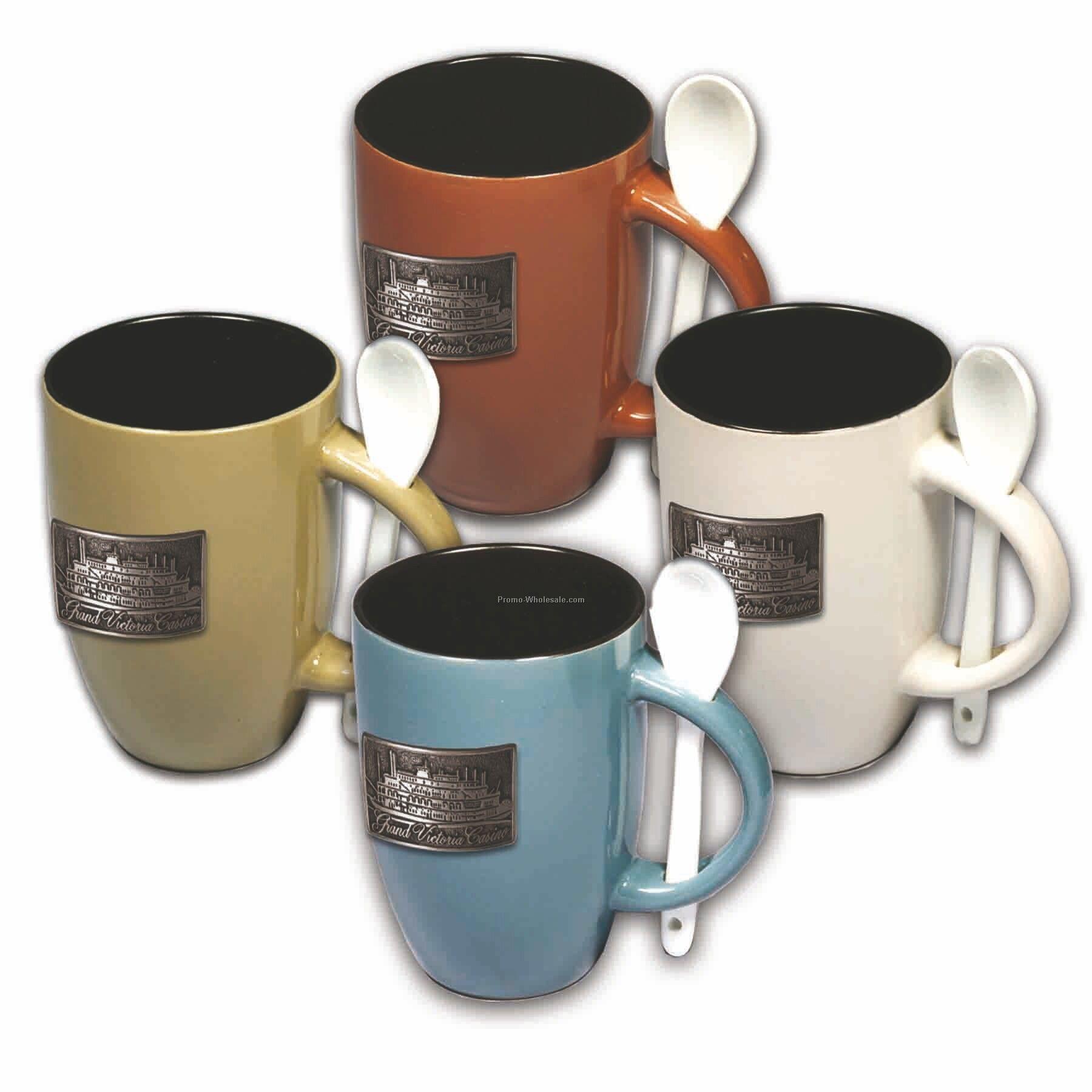 Coupon discount mugs