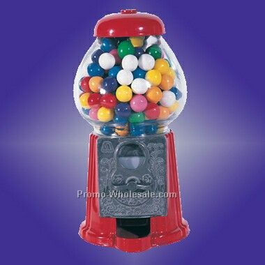 "9"" Standing Gumball Machine (Screened)"