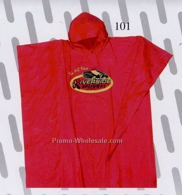 Adult Regular Rainwear Poncho
