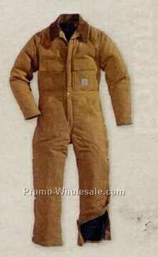Carhartt Duck Arctic Quilt Lined Coverall (Regular 34-58)