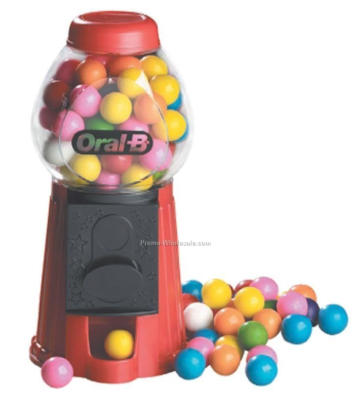 Circus Filled Gumball Machine (Standard Shipping)