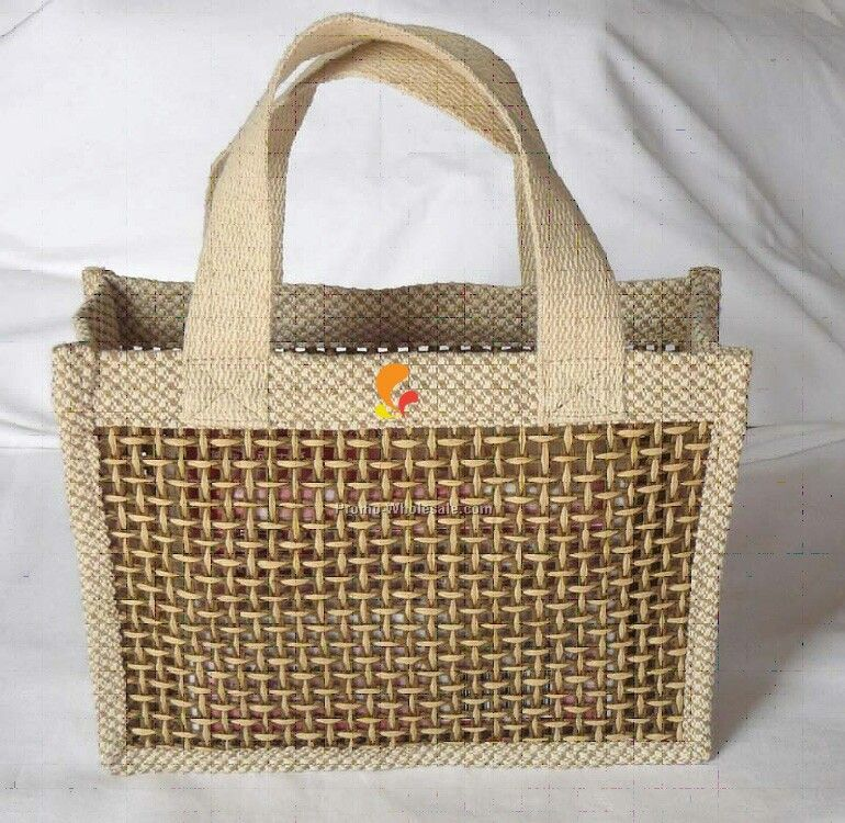 Cotton Jute Blend Tote Bag - 12 Oz.