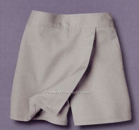 Dickies Girl's Faux Wrap Skort / Sizes 7-14/ 1st Oversize