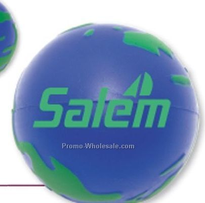 "Earth Squeeze Ball 2 1/2"" (Overseas 8-10 Weeks)"