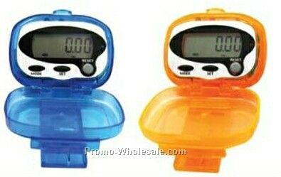 Electronic Clip On Pedometer