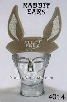 Foam Rabbit Ears Visor