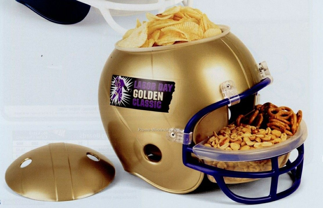 Football Helmet Snack Bowl