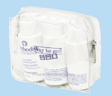 Harmony Clear Amenity Bag