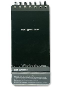 Next Great Idea List Journal