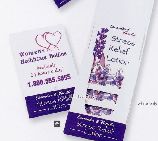 Pillowline Lavender & Vanilla Stress Relief Lotion Pocket Pack