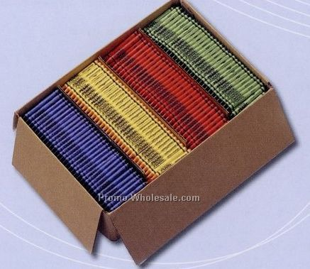 Prang Bulk Case Crayons (3000 Count, Standard Wrapper)