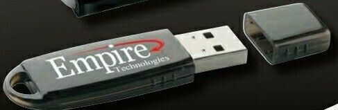 Rounded USB 2.0 Flash Drive (512 Mb)