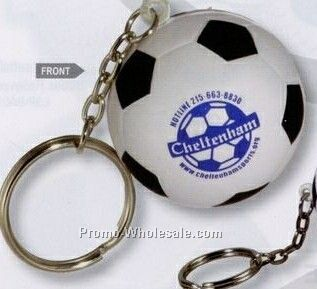 Soccer Ball Key Chain Squeeze Toy