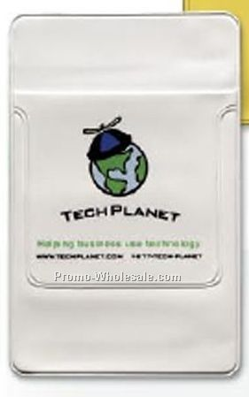 "Soft Vinyl Pocket Protector With Flap (3"" Flap)"