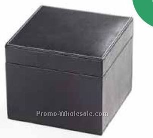 Suede Lined Cube Box