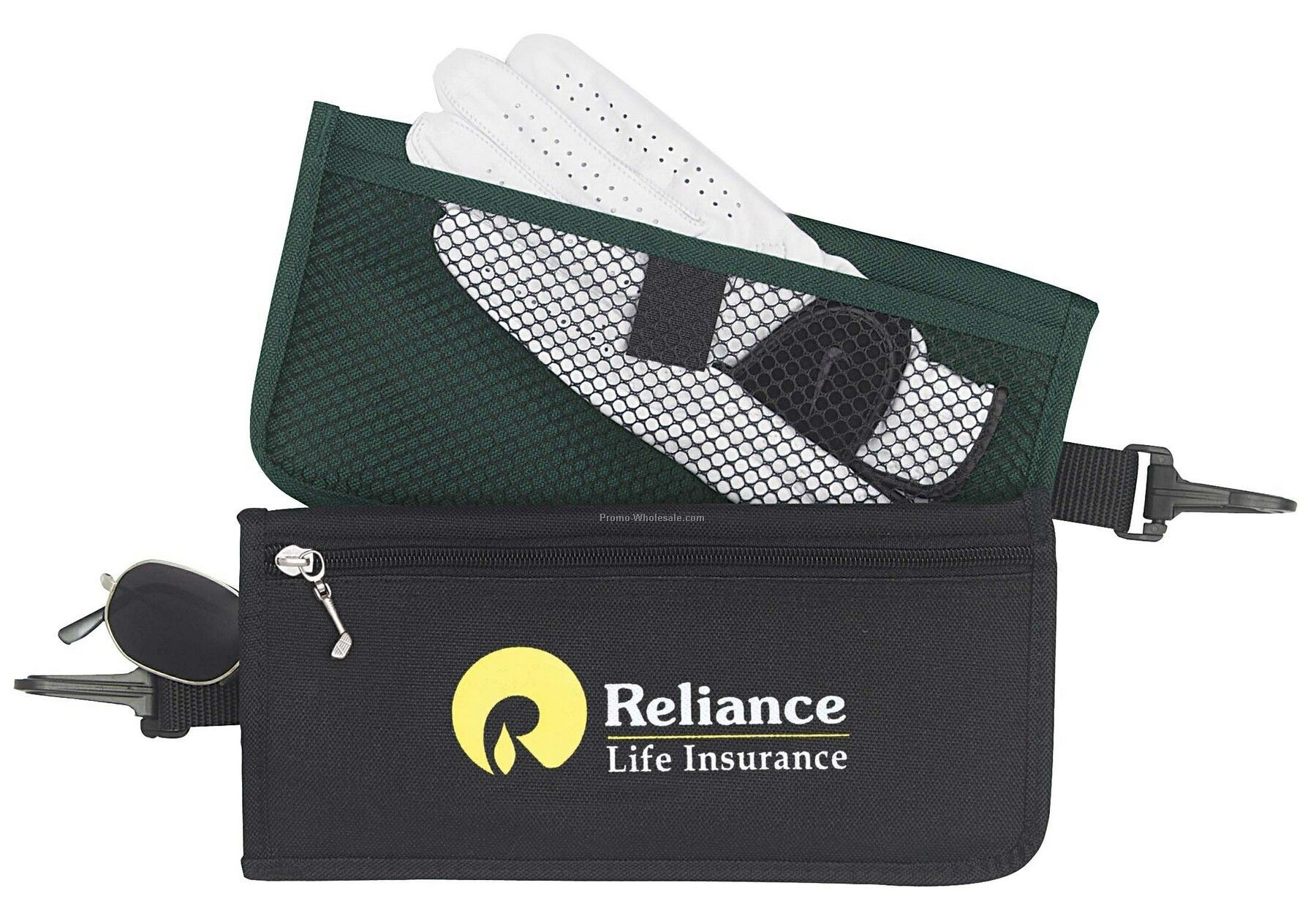 Tee Off Golf Caddy Pouch