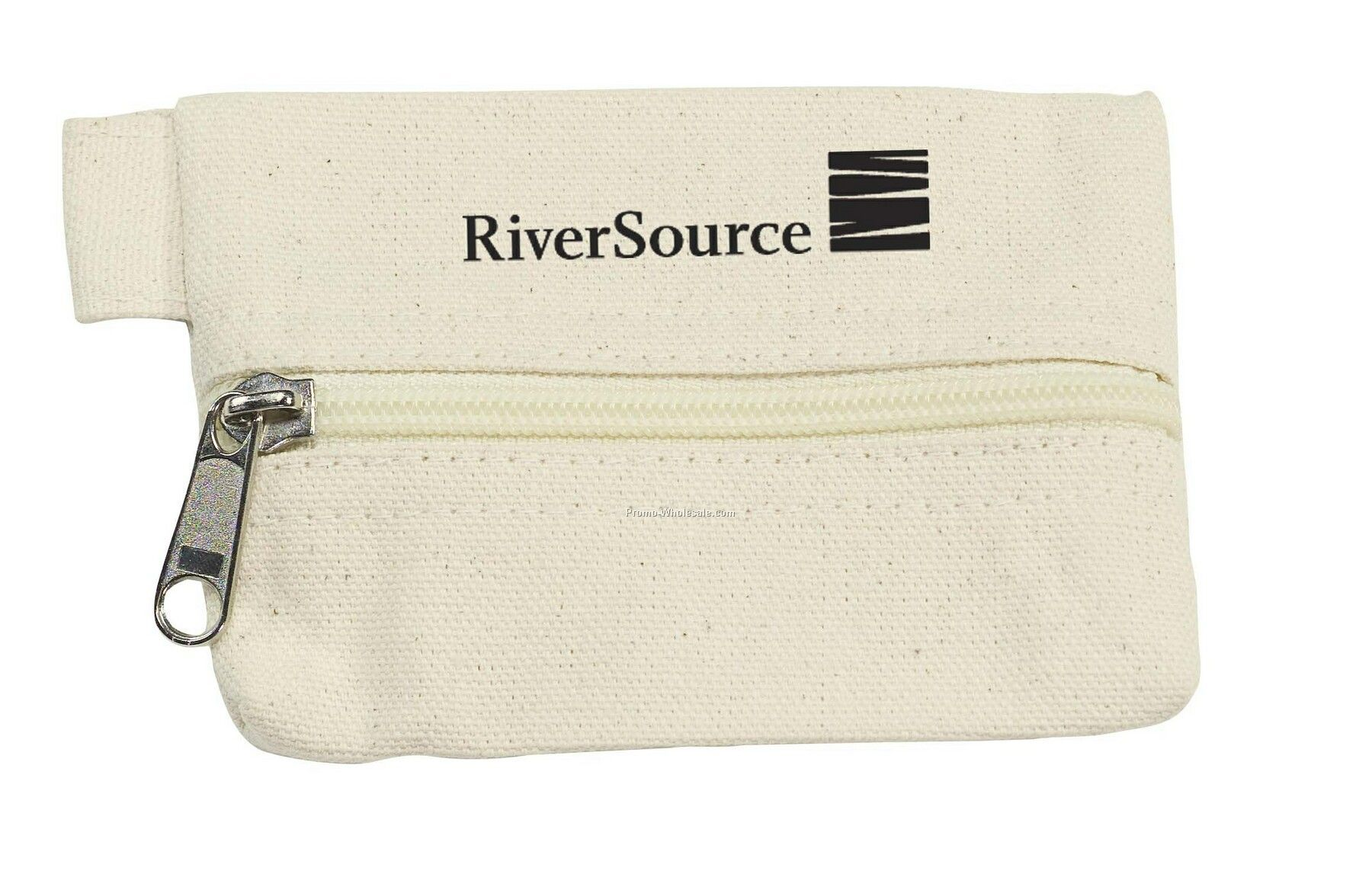 Tee Off Small Organic Cotton Pouch