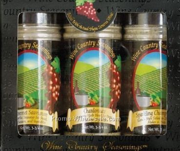 Wine Country Three Pack Seasonings